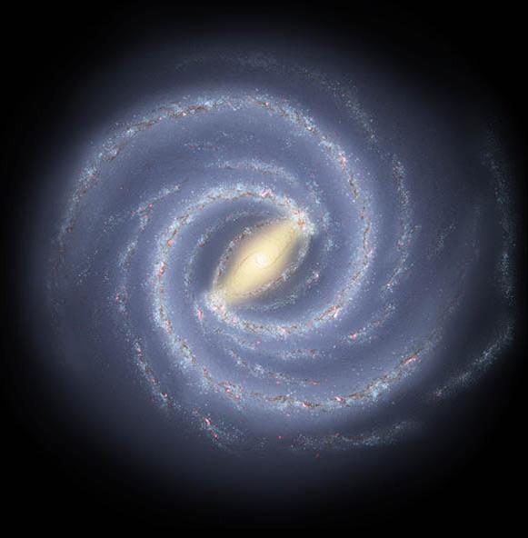 Milky Way NASA JPL