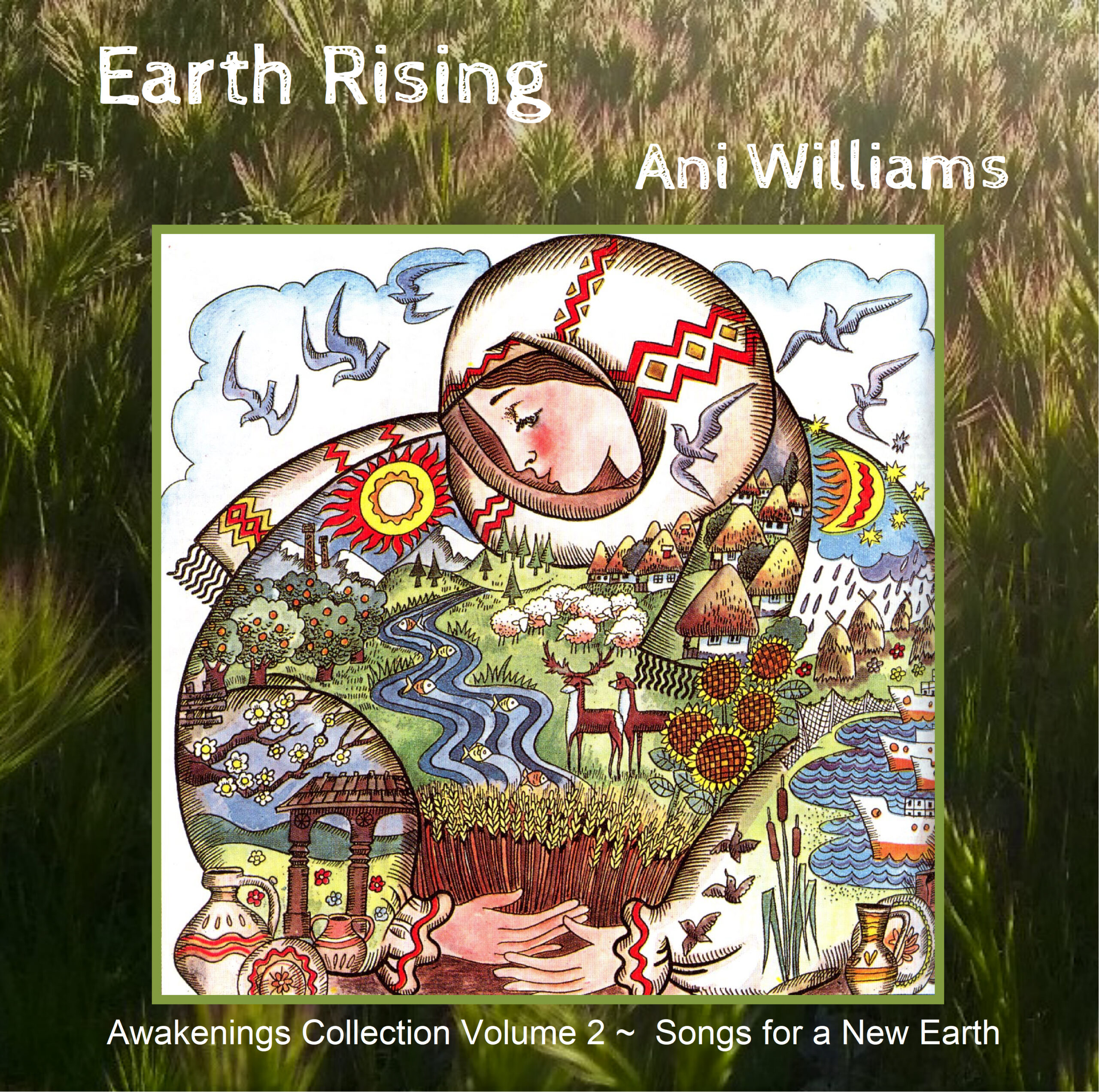 """New Mp3 CD release for Earth Day 2020: """"Earth Rising"""""""