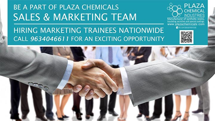 Sales and Marketing Required