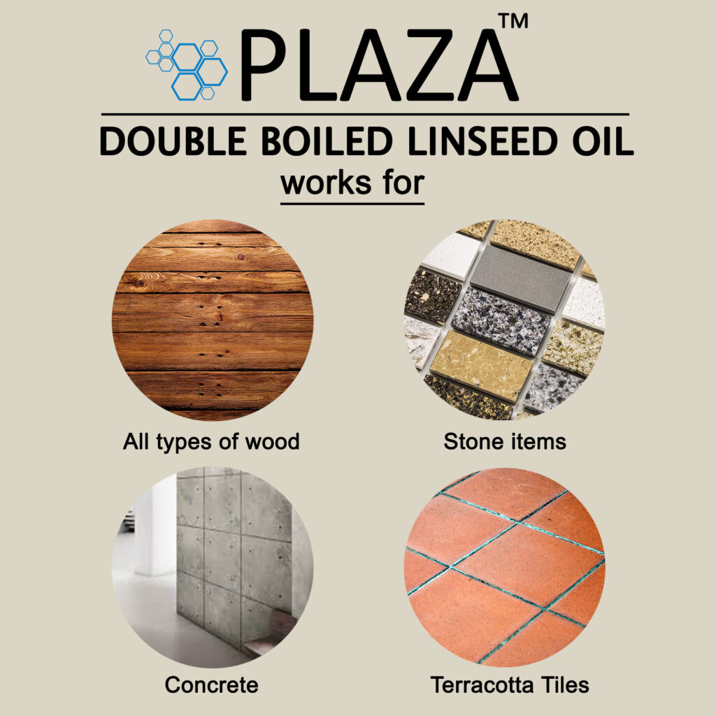 PLAZA™ - Double Boiled Linseed Oil