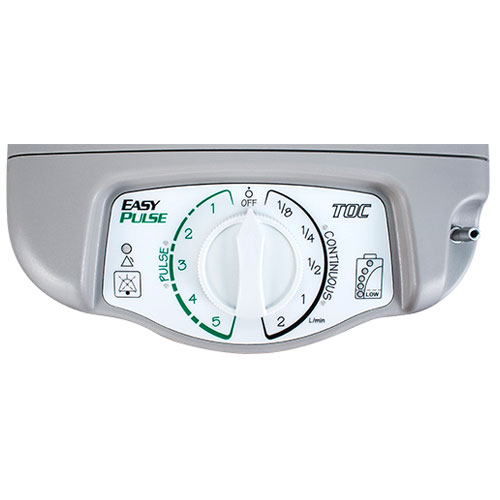 PM4400 Oxygen Concentrator Controls