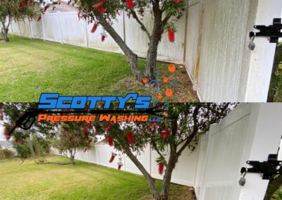 professional fence cleaning residential Tampa, FL