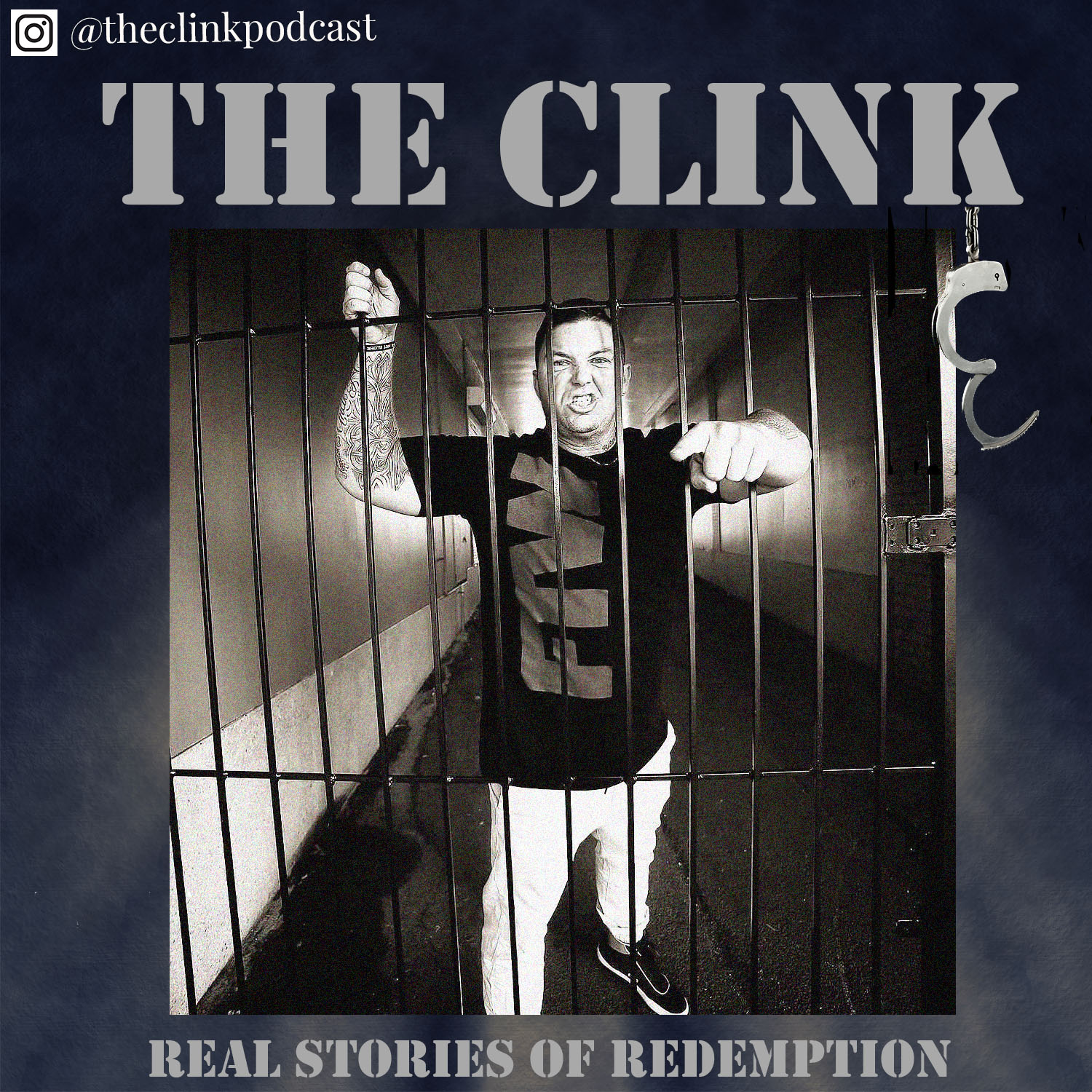 he Clink is a podcast that deals with real life stories of redemption.  Hosted by Brent Simpson who is a former bikie enforcer who sold illicit drugs before turning his life around and dedicating his life to charity.