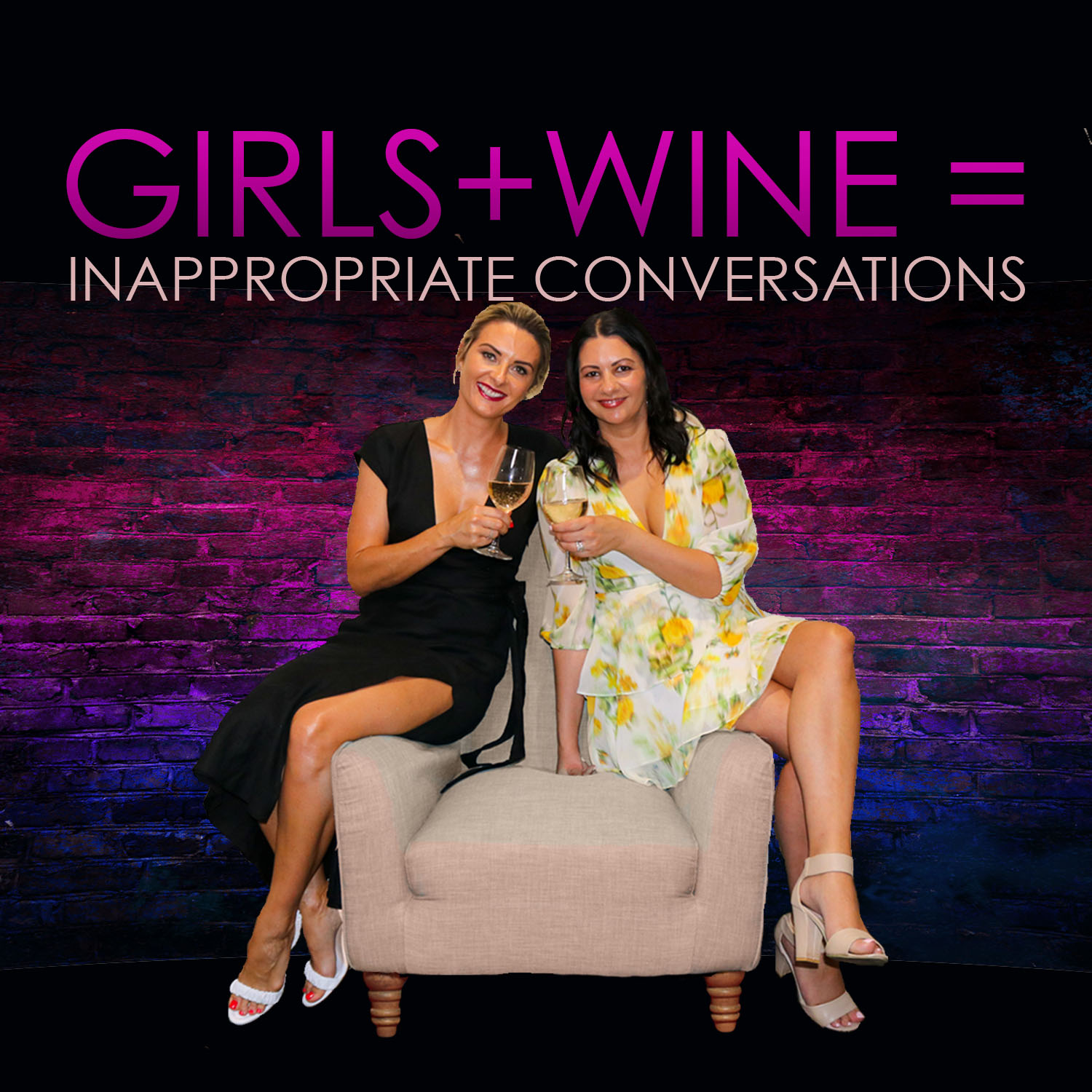 This podcast is exactly as it appears to be - a weekly girls catch up over dinner and wine where NO subject is off limits! Rachel Thaiday and Katie Mattin get loose and leave nothing to the imagination!