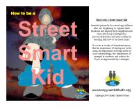 Street Smart Kid