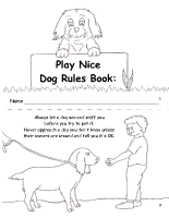 Dog Rules Mini Book