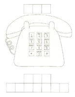 Phone Number Worksheet