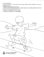 Safe Skateboard Rules
