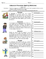 Stragner Danger Spelling Grade-3-4