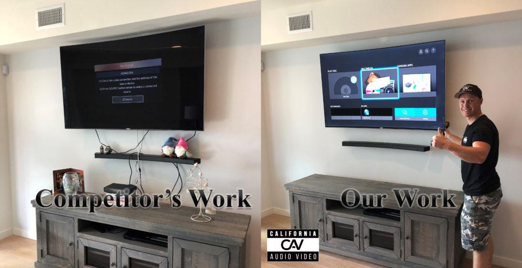 San Diego La Jolla TV mounting