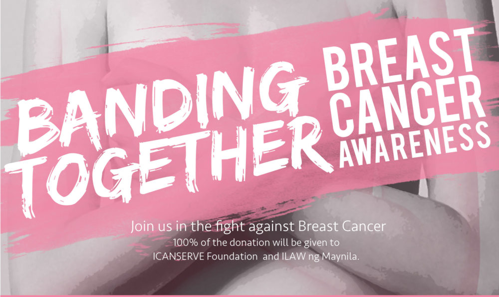 Breast Cancer Awareness Month: #BandingTogether