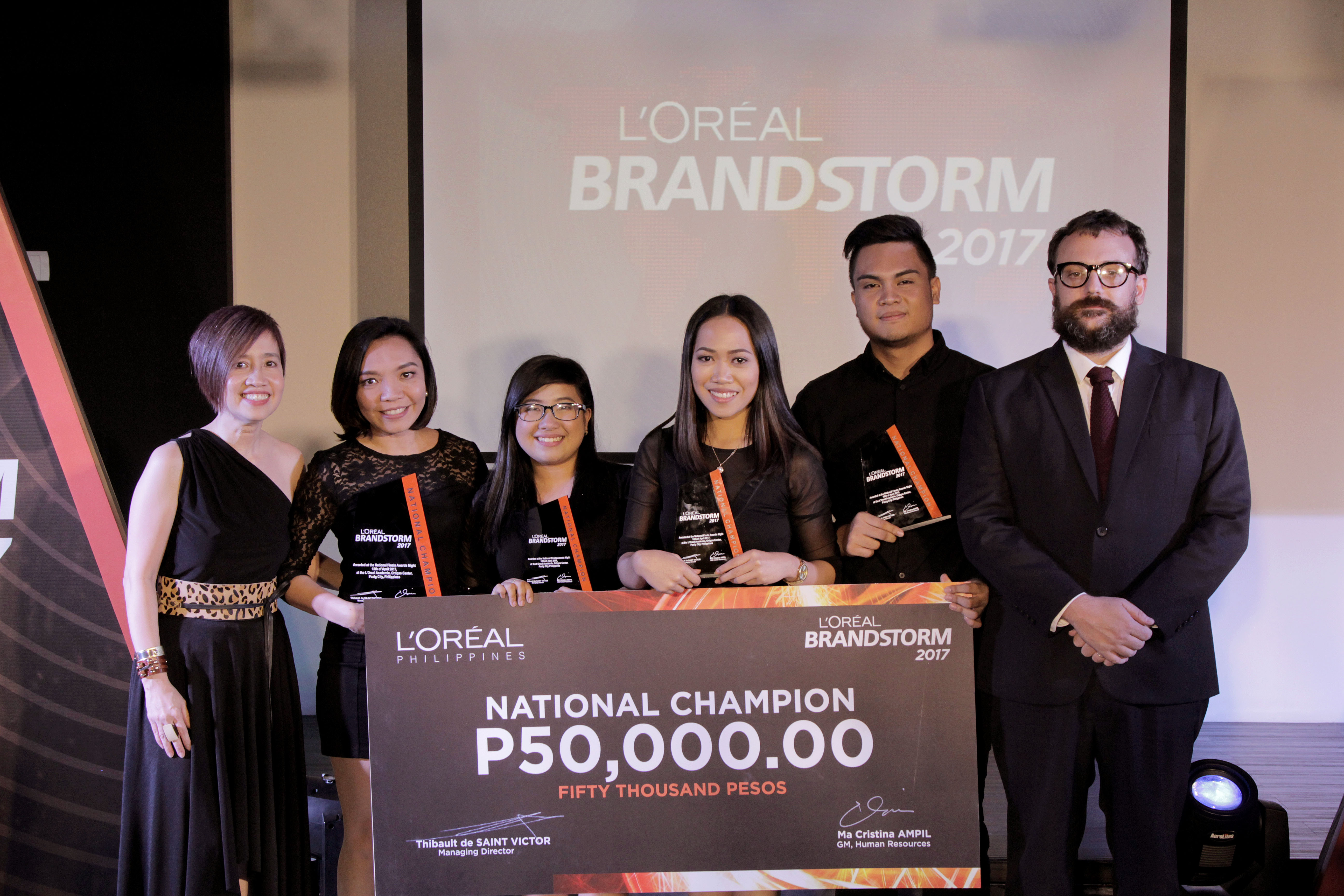 UP Visayas Student Team Wins L'Oréal Business Competition