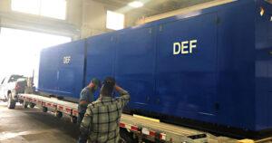 990 Gallon DEF Transfer Shelter