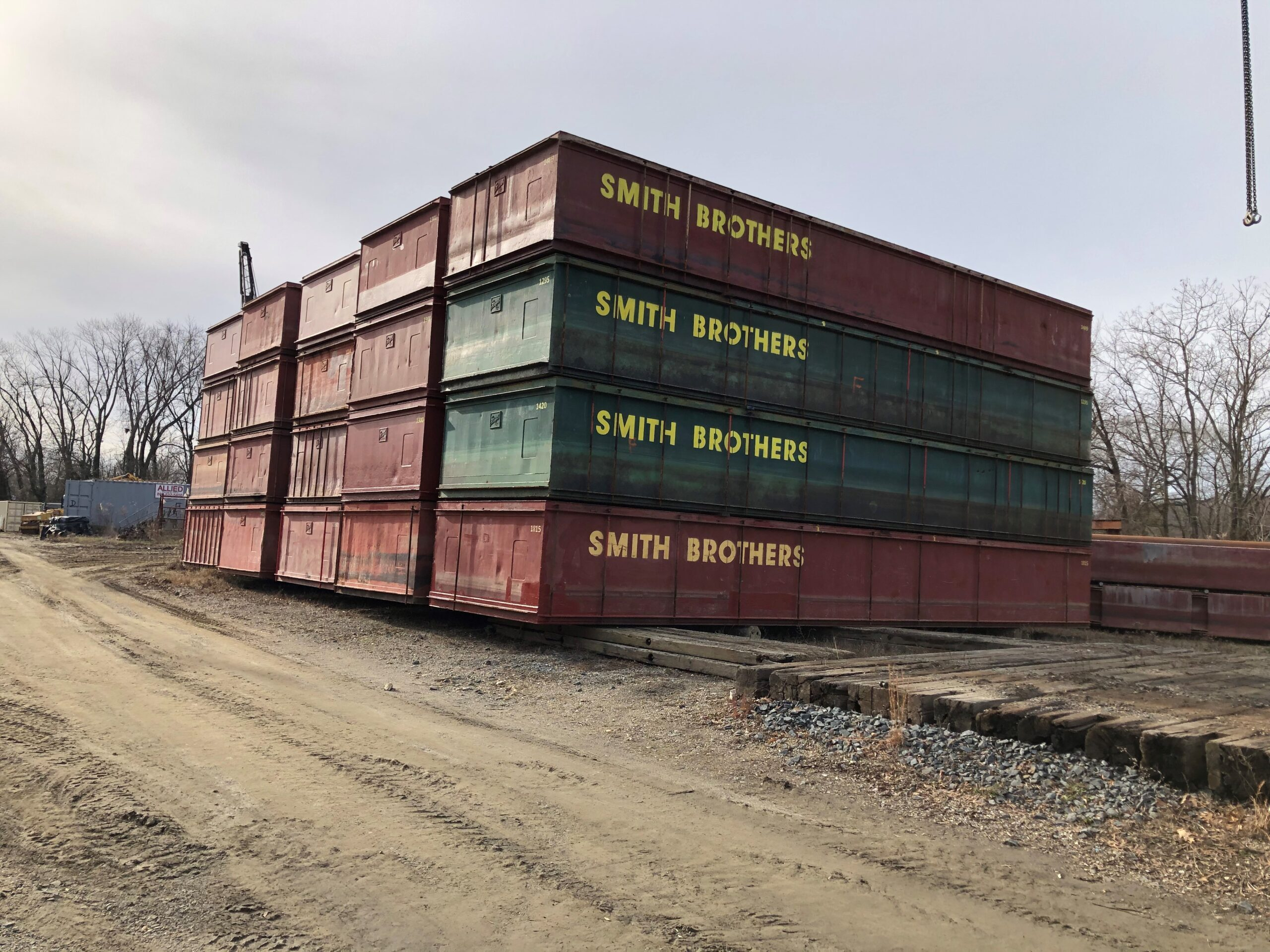 SECTIONAL BARGES FOR RENT