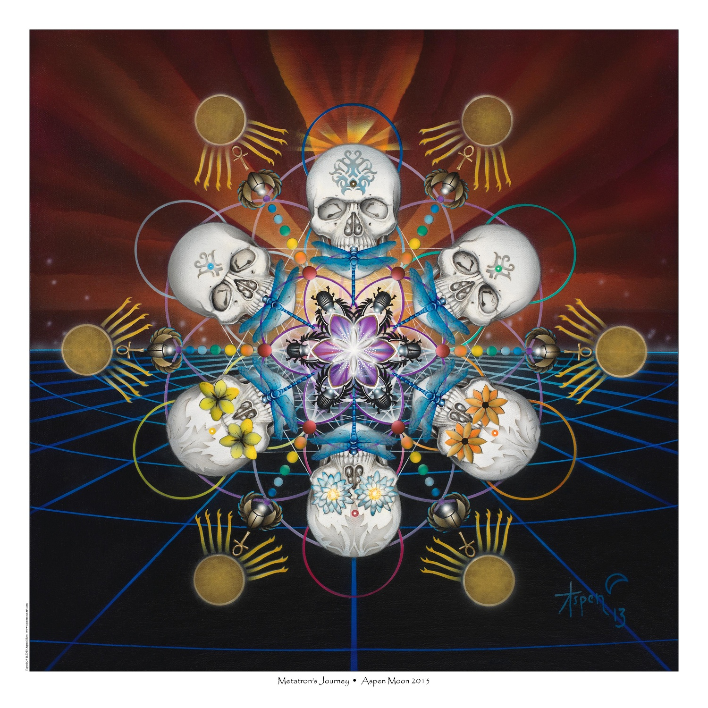 Metatron's Journey – Limited Digital Print