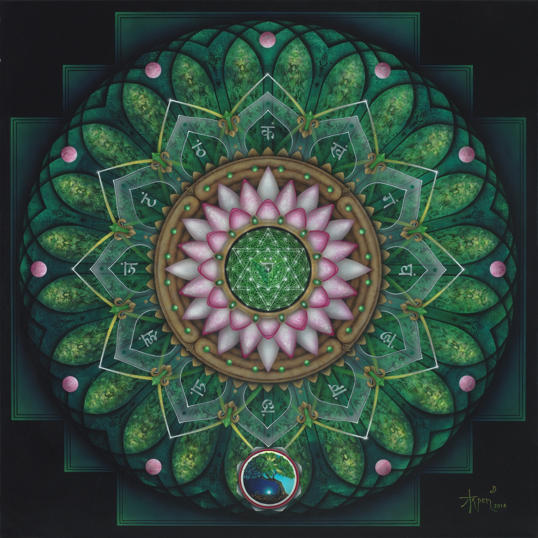 Mandala Mystique – Month long show of Aspen Moon's Art