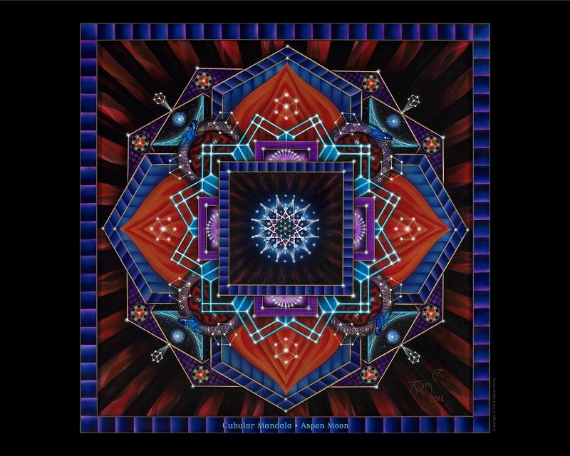 Digital Download 800 x 640 – Cubular Mandala