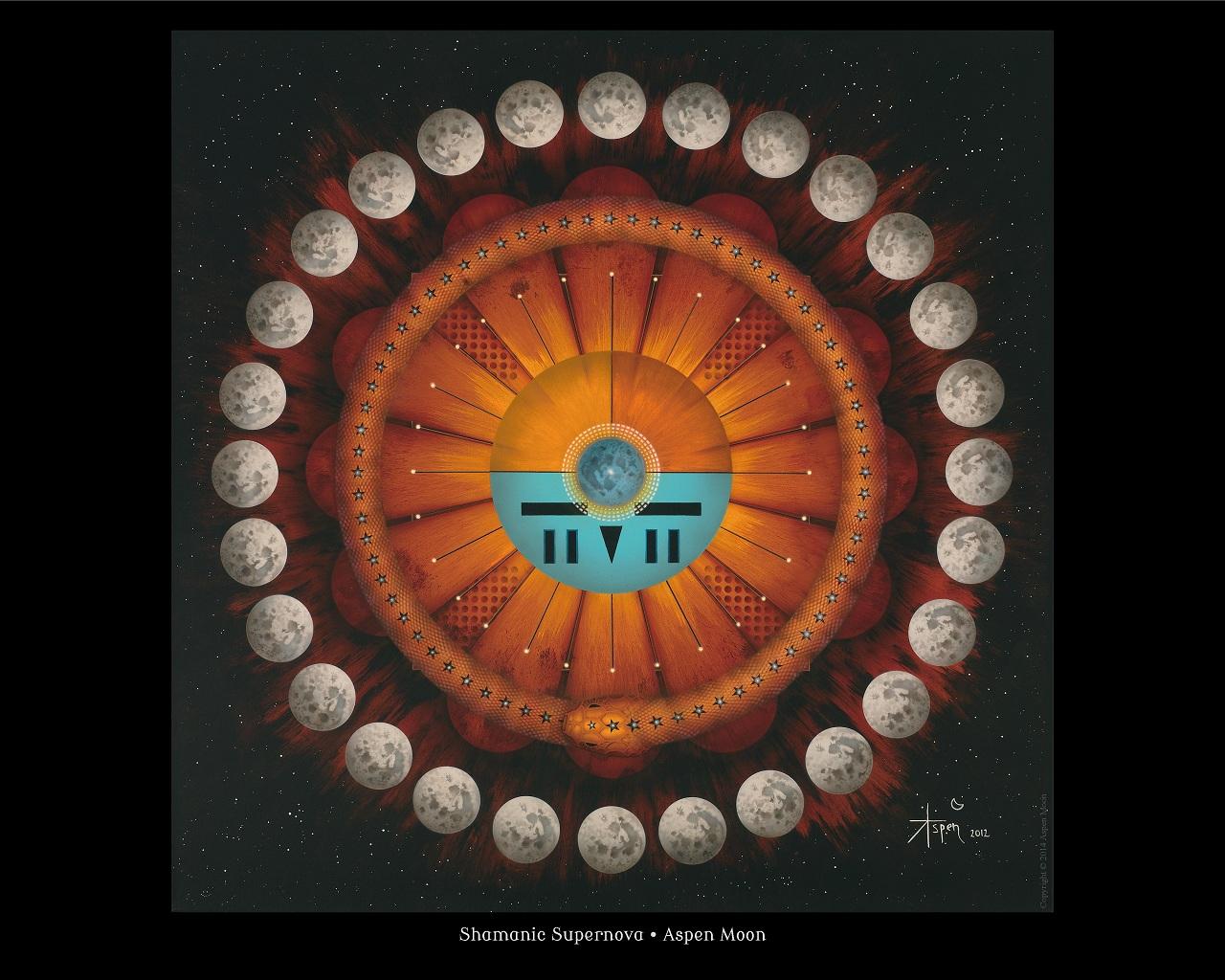 Digital Download 800 x 640 – Shamanic Supernova