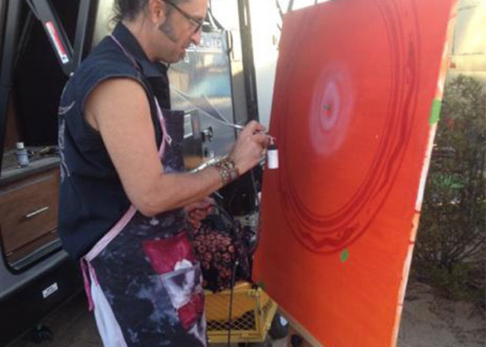 Live Painting at Joshua Tree Music Festival