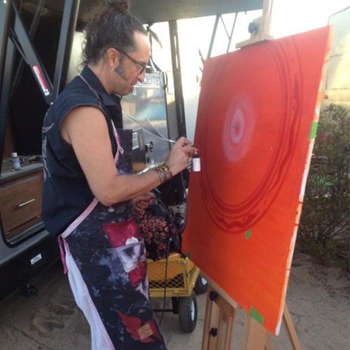 Live Painting at Joshua Tree Music Festival