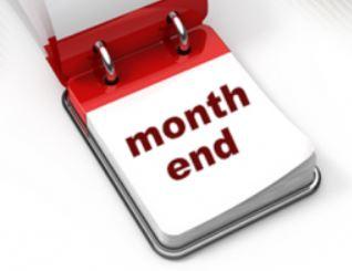 Dentrix month end