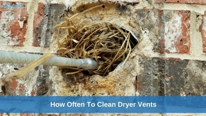 How Often To Clean Dryer Vents