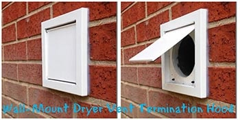 Wall Mount Dryer Vent Hood