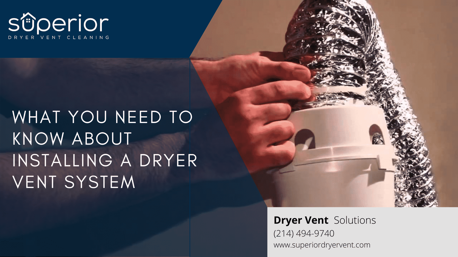 What You Need to Know About Installing a Dryer Vent System