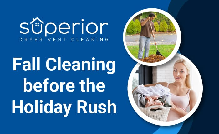 Fall rooftop dryer vent cleaning before the holiday rush