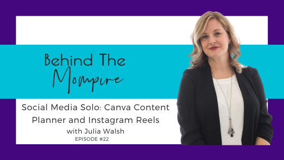 Social Media Solo: Canva Content Planner and Instagram Reels