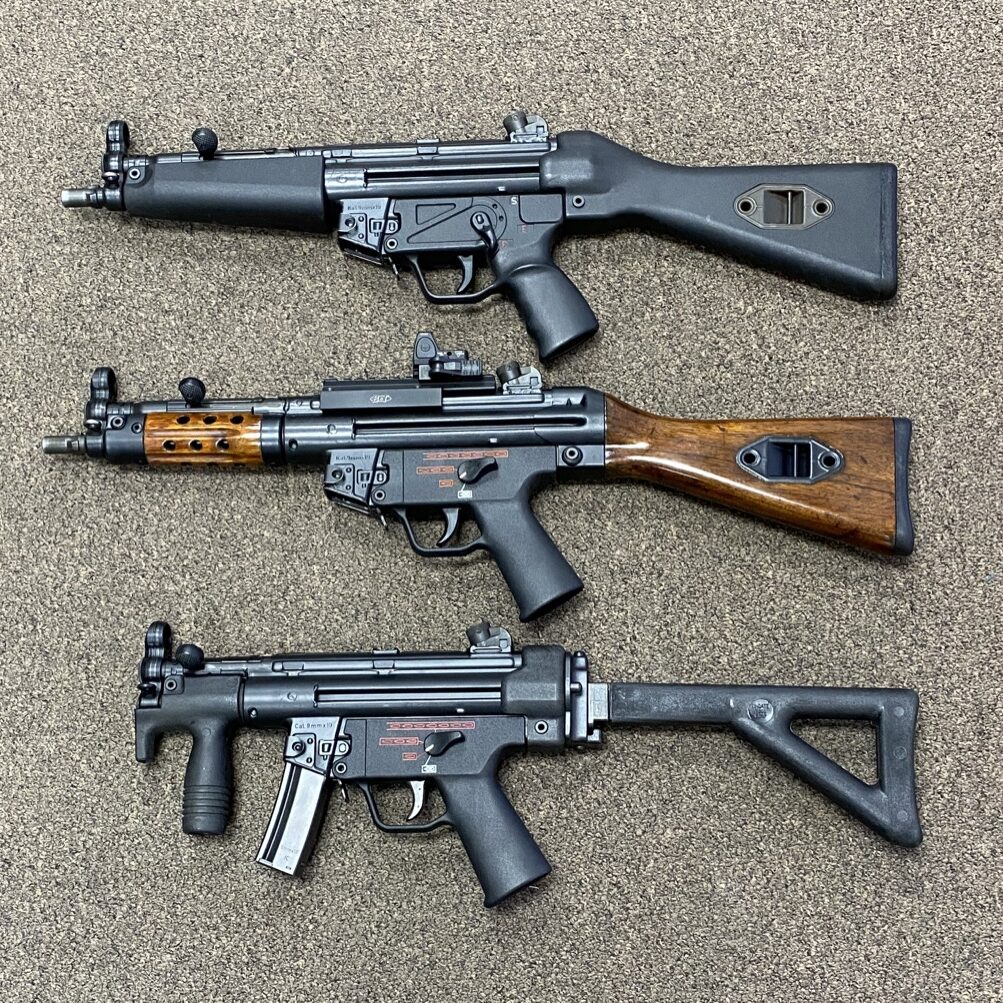 HK MP5 SMG