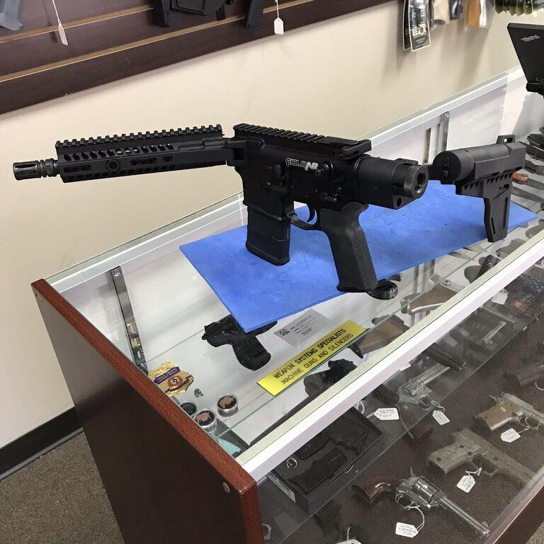 Folding AR Rifle