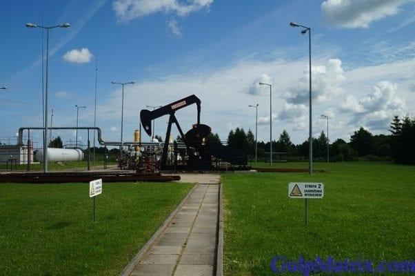 crude oil drilling