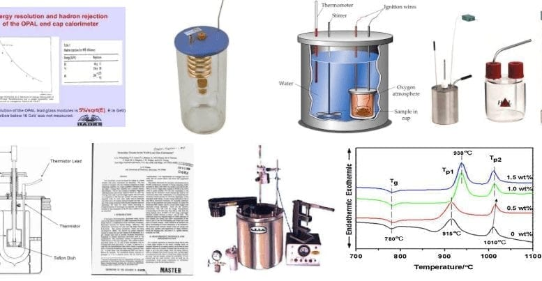 glass calorimeter