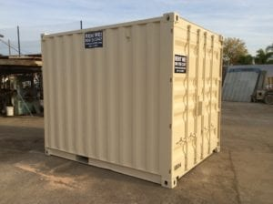 10 ft storage container for rent