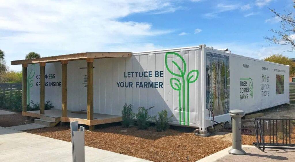 Modified Storage Container Farm