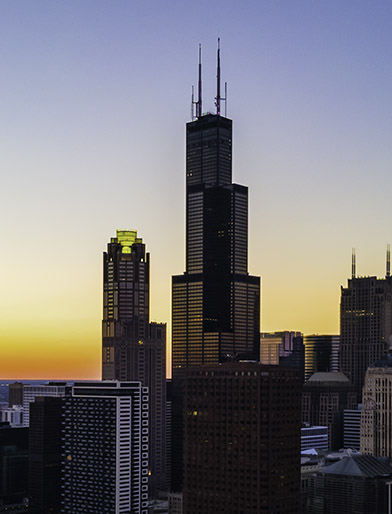 Willis Tower Chicago @Carson Cloud