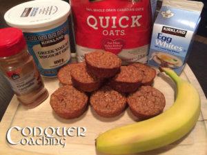 Banana Oatmeal Muffins FB