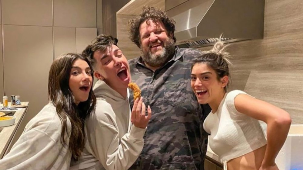 Charli, Dixie and James Charles Reunite With Chef After Controversy