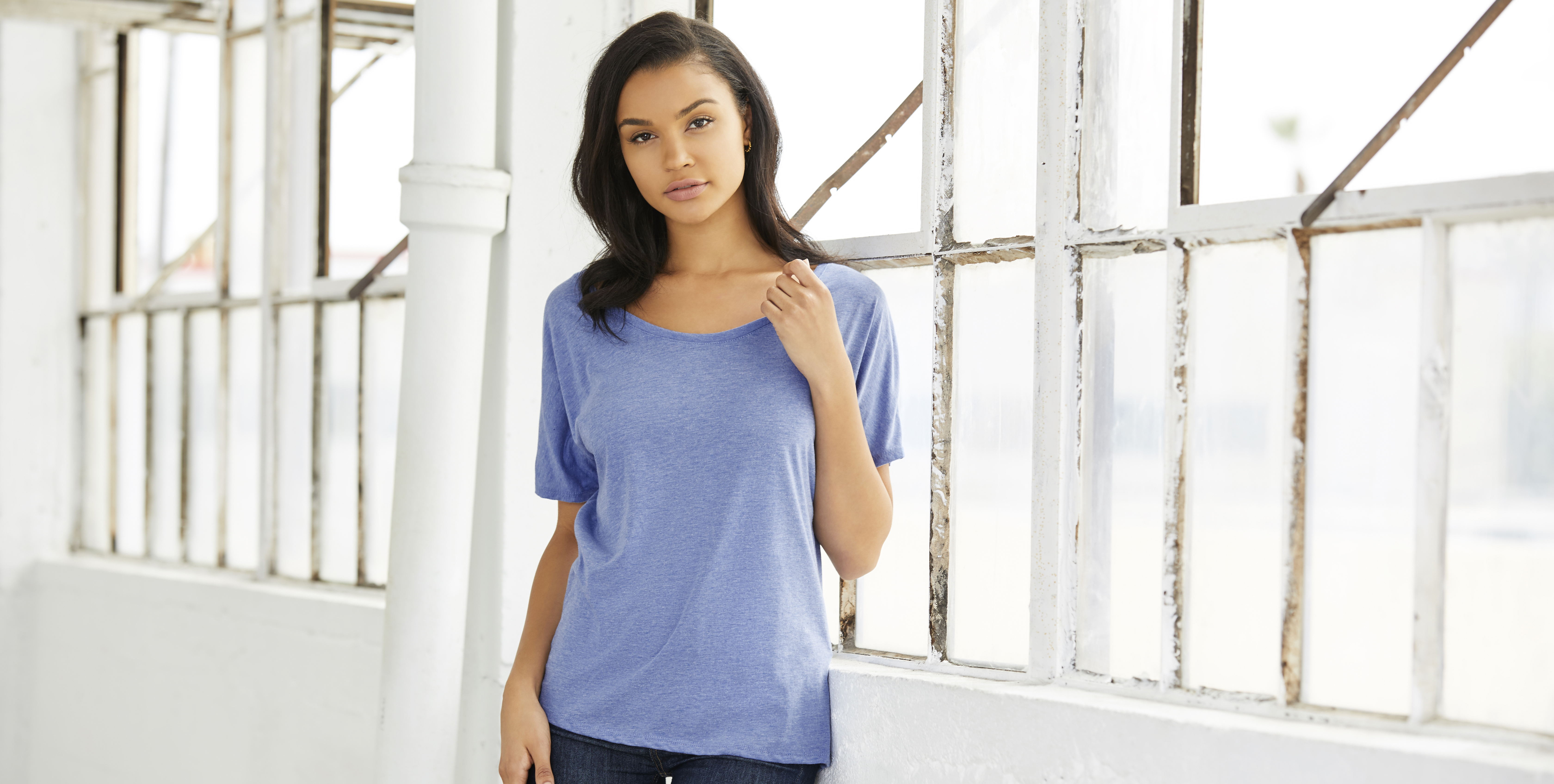 Best Fitting T-shirt, Women's Slouchy Fit