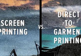 Screen Print versus DTG Print
