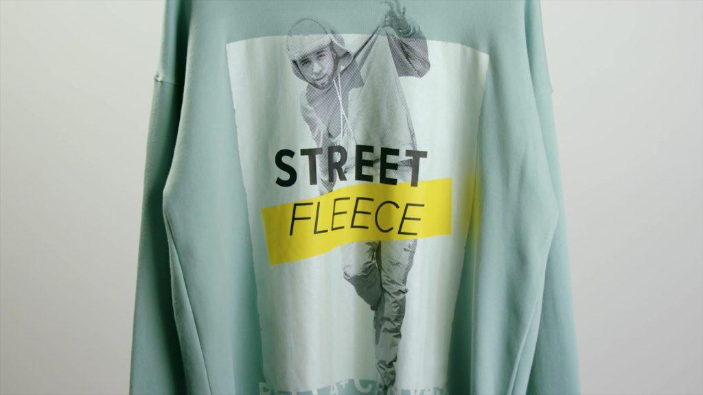 Holographic Design on BELLA+CANVAS Street Fleece