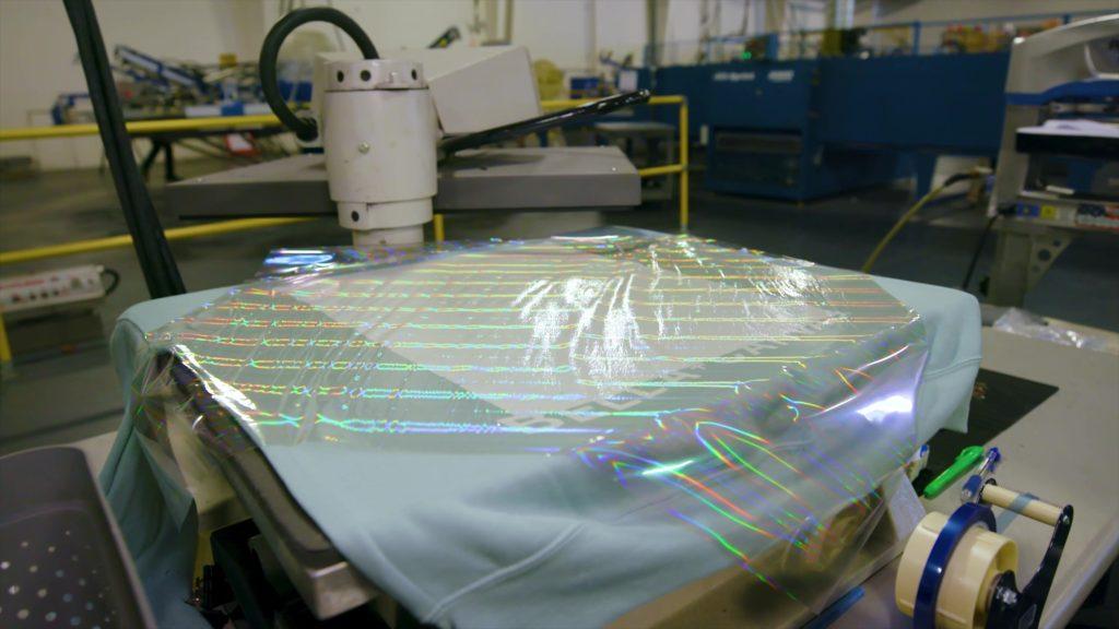 Holographic Foil Heat Press