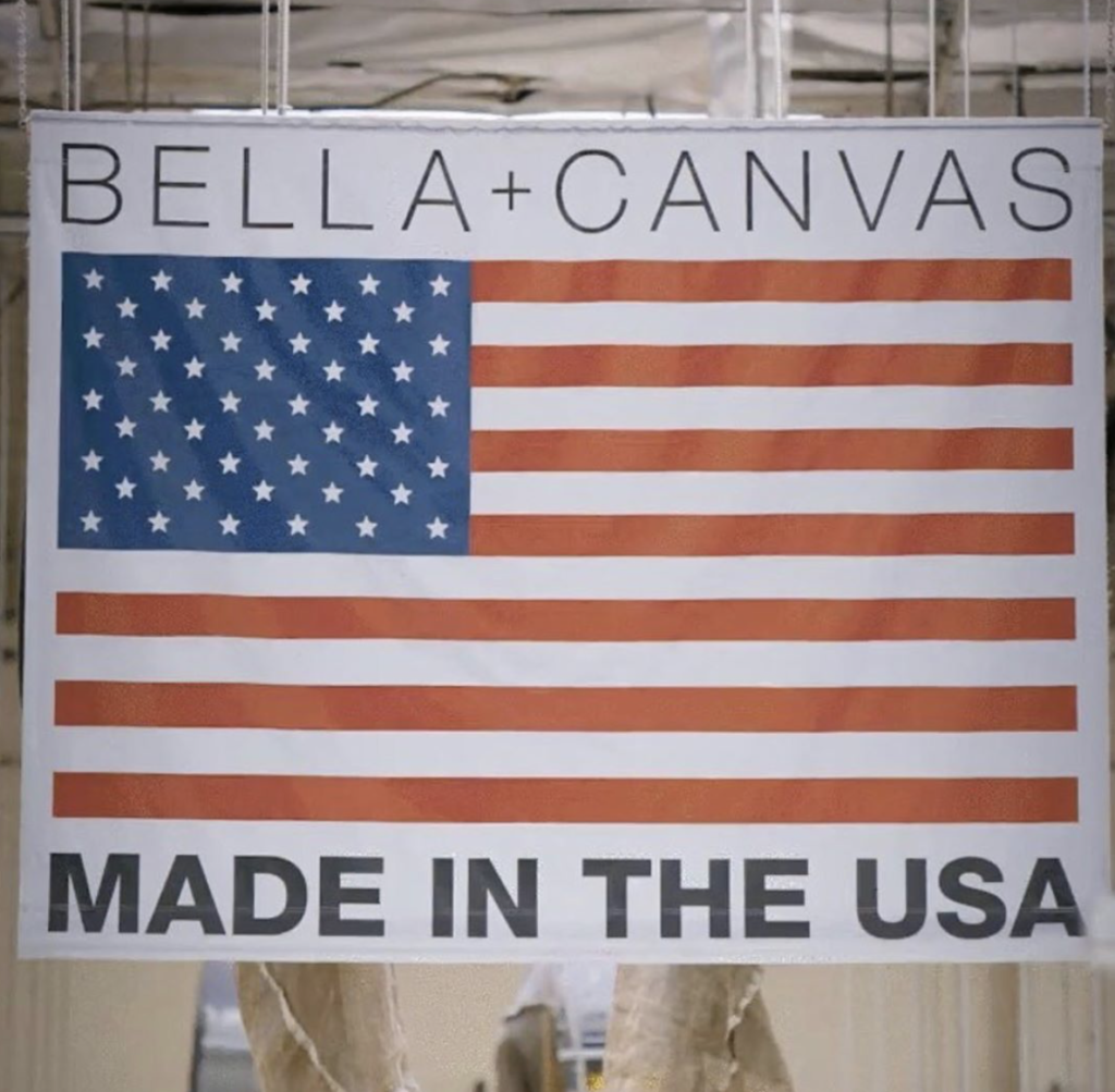 BELLA+CANVAS USA Strong