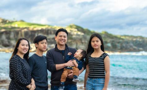 Little Bay Beach Family Photoshoot