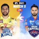 IPL 2021 Coverage – Match#2: CSK vs DC – Delhi Capitals beats Chennai Super Kings by seven wickets