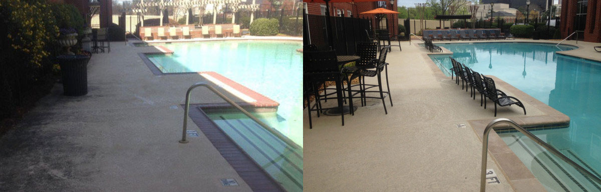 Modern Decks before after @ Maritime Pools
