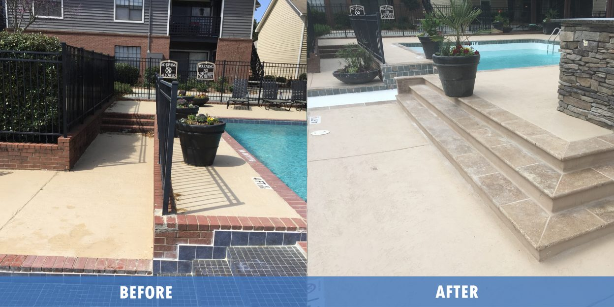 Pool Service before after @ Maritime pools
