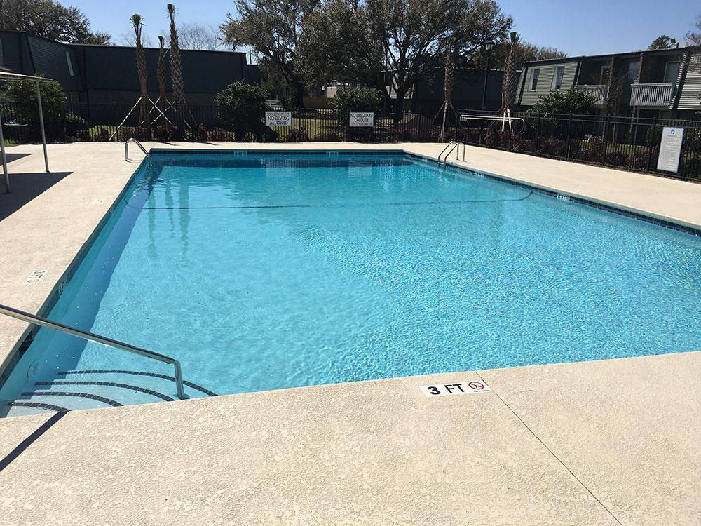 After Pool Repair @ Maritime pools