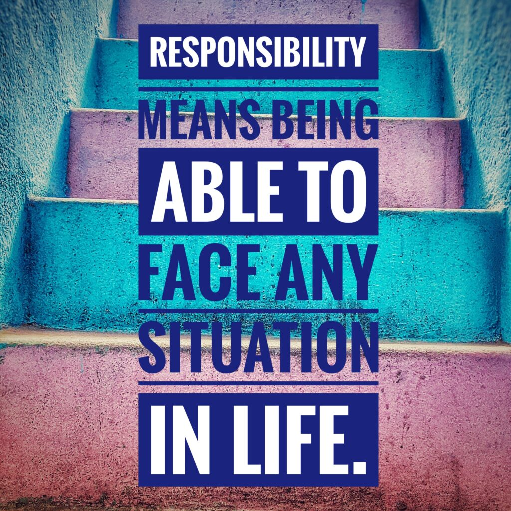 responsibility quotes - avinash singh